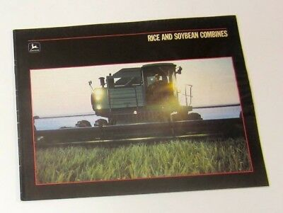 John Deere Rice and Soybean Combine Brochure