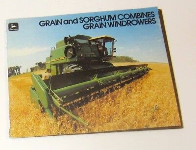 John Deere Grain and Sorgum Combine and Windrowers Brochure