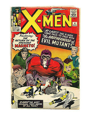 X-men 4 1st Appearance of Scarlett Witch and Quick Silver