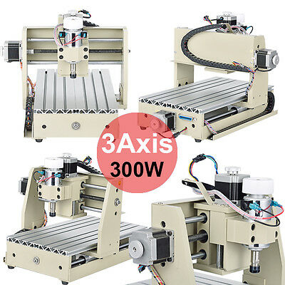 3 AXIS ENGRAVER CNC2015T 300W Router Engraving Drilling Milling Carving Machine
