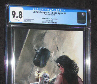 JLA vs. Suicide Squad #1 CGC 9.8 NM/MT Dell Otto Virgin Variant only 1000