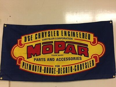 Mopar Flag ~ dodge chrysler plymouth desoto ram jeep amg roadrunner challenger