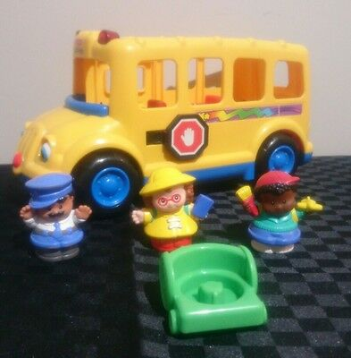 Fisher Price Little People Beeps The School Bus