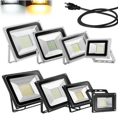 Outdoor LED Flood Light Bulb 500W 300W 200W 150W 100W 50W 30W 20W 10W AC110V