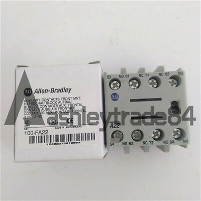 1PCS AB Auxiliary Contact Block 100-FA22 ( 100FA22 ) NEW