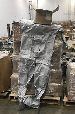 2XL New DuPont Tychem F Coverall Suit TF 169 Preppers Chemical Suit Hood + Boot