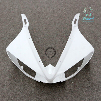 ABS Unpainted Front Upper Cowl Nose Fairing For Yamaha YZF-R1 2002-2003