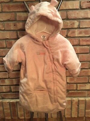 Carters Girl Winter Coat Snow Suit Size 0-6 Month Pink