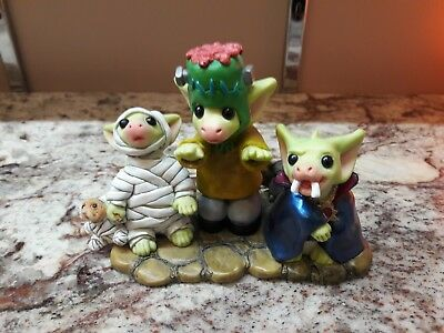 "Whimsical World of Pocket Dragons ""The Terrible Trio of Terror"" SIGNED!!!"