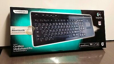 Logitech Cordless Mediaboard Pro For PlayStation 3 (LOCAL PICK-UP ONLY)