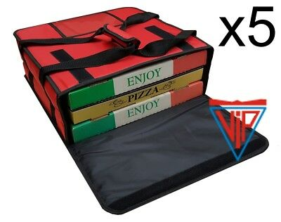 5x Pizza Hot Food Delivery Bag E-414115 @ $62.00 each