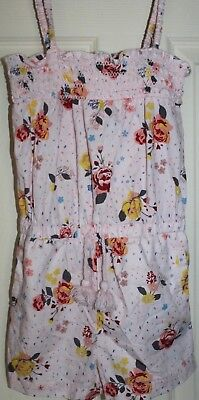 As New Girls Cotton On Kids floral summer Playsuit size 6