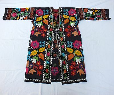 Z 1127 - Super Chapan made from Uzbek cotton suzani from 80's