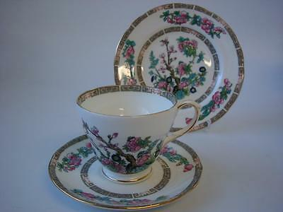 Duchess Fine Bone China Indian Tree Trio With Gilt Trim Ideal Weddings Parties