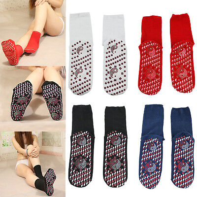 Self Heating Magnetic Tourmaline Therapy Pain relief Health Socks