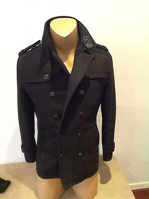 Mens Black POLITIX JACKET Size M ..in new condition..
