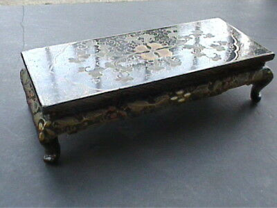 Chinese old lacquer ware decorative stand  Wooden