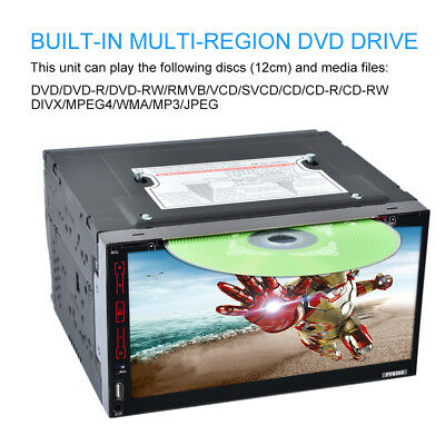 """6.95"""" doppio din GPS auto CD DVD Stereo  MP3 Lettore Android Bluetooth FY-6305"""