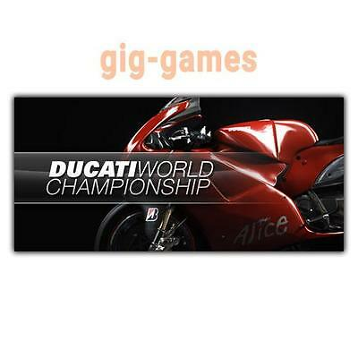 Ducati World Championship PC spiel Steam Download Link DE/EU/USA Key Code