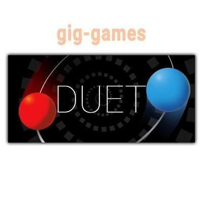 Duet PC spiel Steam Download Digital Link DE/EU/USA Key Code Gift
