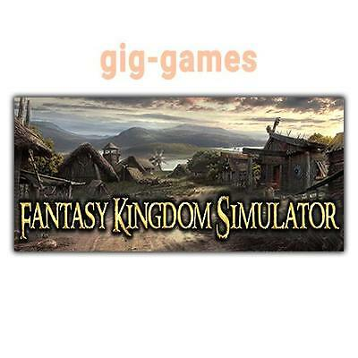 Fantasy Kingdom Simulator PC spiel Steam Download Link DE/EU/USA Key Code