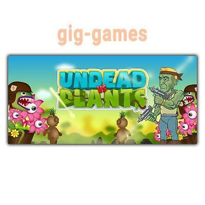 Undead vs Plants PC spiel Steam Download Digital Link DE/EU/USA Key Code Gift
