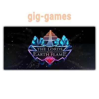 The Lords of the Earth Flame PC spiel Steam Download Link DE/EU/USA Key Code