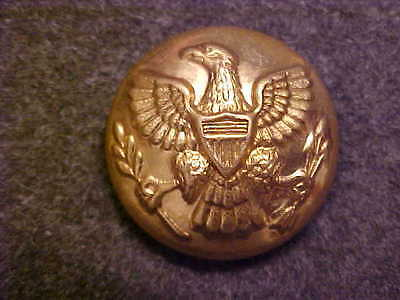 Rare Indian Wars Eagle Arrows Brass 13/16 Uniform Coat Button Ridabock & Co
