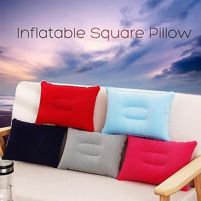 Portable Ultralight Inflatable Air Pillow Cushion Travel Hiking Camping Rest LS
