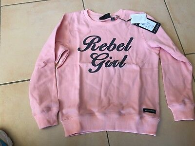 Rock Your Baby Rebel Girl Jumper   Sz  6  Bnwt