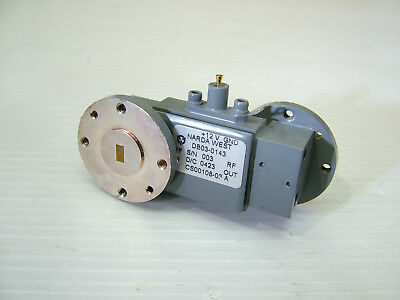 33 - 50GHz WR22 RF amplifier Narda DB03-0413 WR22 waveguide in / out