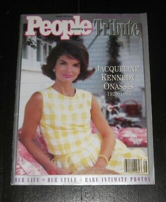 Jacqueline Kennedy Onassis PEOPLE TRIBUTE Commemorative Issue PHOTOS Jackie