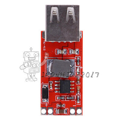 2PCS DC-DC 12V / 24V to 5V 3A USB Step-down Buck Power Módulo For Car Charger