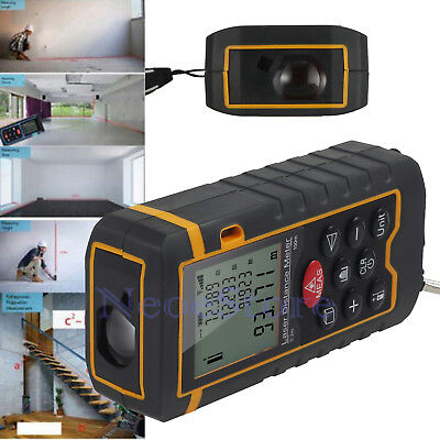 New 100M Digital Laser Distance Meter Range Finder Handheld Measure Diastimeter