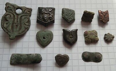 VIKING Period 12 Bronze patches (linings)