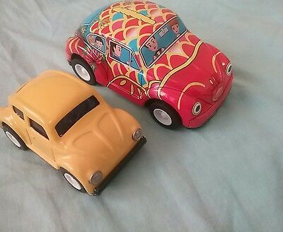 Tin Toy Volkswagens Made in Japan