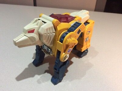 "Original GI Transformers ""WeirdWolf"" Head Master"