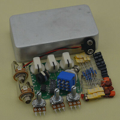 DIY Analog Delay Effect Pedal Full Kits with1590B And PCB RFEE SHIPPING