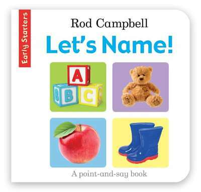 Early Starters: Let's Name!, Campbell, Rod, New Book