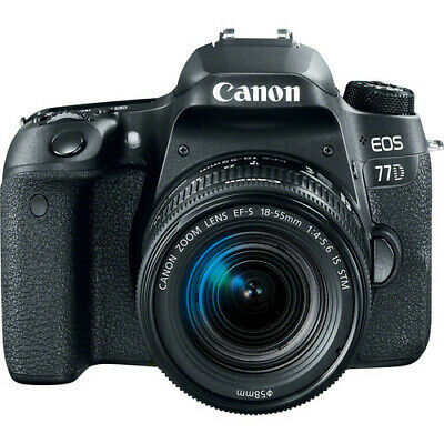Canon EOS 77D DSLR Camera with 18-55mm Lens!! BRAND NEW!!