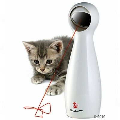 FroliCat Bolt Laser Cat Toy Interactive Laser Pointer Built In Timer Accessory