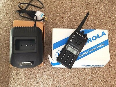 Motorola GP 68 UHF transceiver. Excellent condition. Hardly used, new battery.
