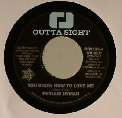 """HYMAN, Phyllis - You Know How To Love Me - Vinyl (7"""")"""