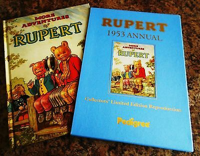 Rupert Annual 1953 Reproduction Facsimile Limited Edition. Ex. condition