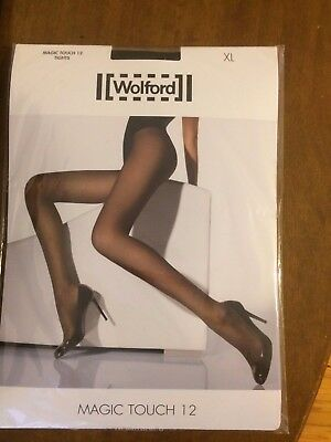 Wolford Magic Touch 12 Tights XL 7005 Black