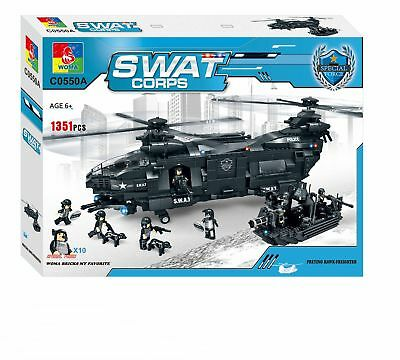 WOMA Swat Team Transport Helicopter
