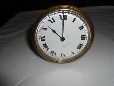 Antique White Enamel Dial 'buren' Swiss Timepiece For Spares Or Repair.