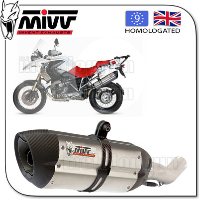 Mivv Approved Silencer Kat Suono Steel Carbon Cup Bmw R 1200 Gs 2010 10 2011 11