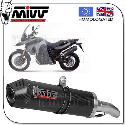 Mivv Approved Silencer Kat Oval Carbon Carbon Cup Bmw F 800 Gs 2010 10 2011 11