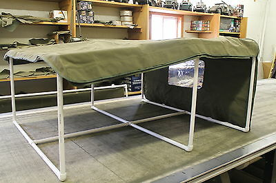 Willys Jeep M38A1 Winter Top, Reinforced Original Equipment Design